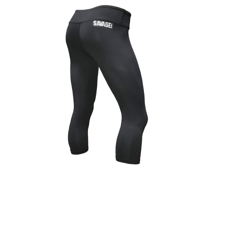 Capri Leggings Black Savage Barbell