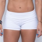 Booty Short Femme (White) Savage Barbell